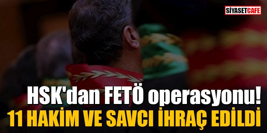 HSK'den FETÖ operasyonu! 11 Hakim ve savcı ihraç edildi