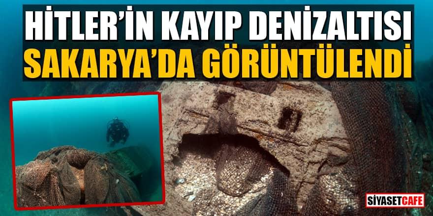2.Dünya savaşının tanığı Hitler'in kayıp denizaltısı Sakarya'da görüntülendi