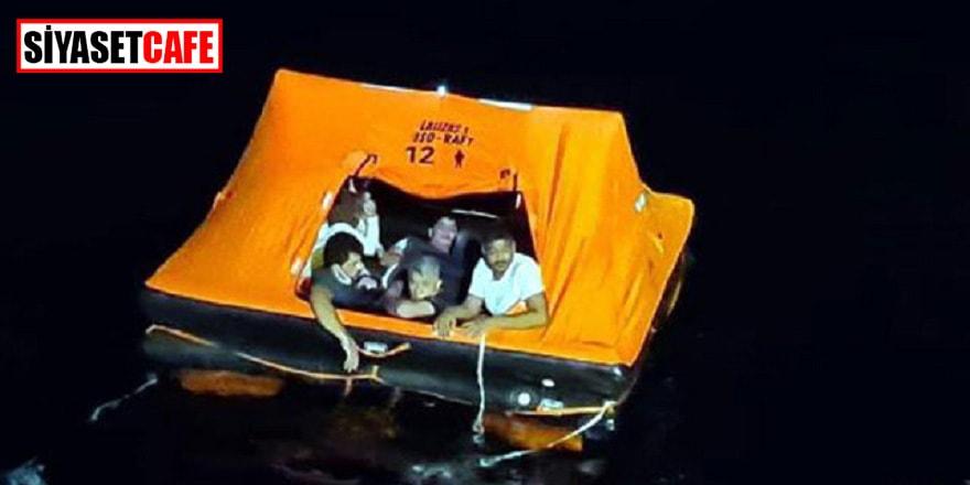 Ege sularında 74 göçmen yakalandı, Türkiye'ye itilen 22'si de kurtarıldı