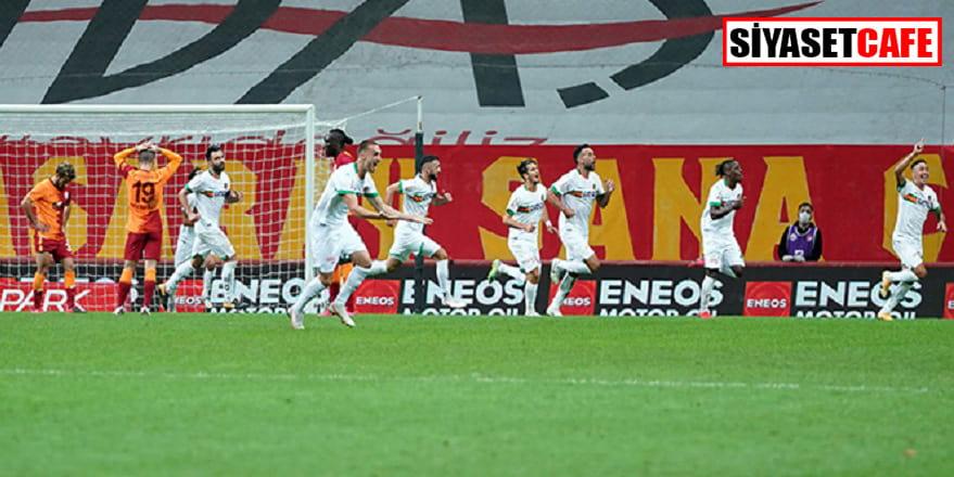 Galatasaray 90+5'de yediği golle 2-1 mağlup oldu