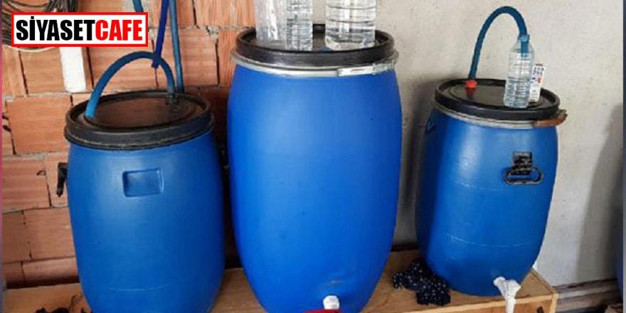Tekirdağ'da 1 ton sahte içki ele geçirildi
