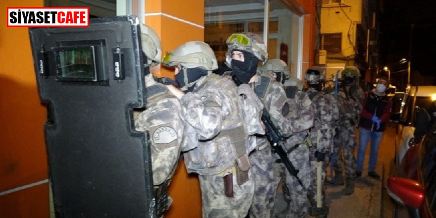 Bursa'da 600 polislik dev uyuşturucu operasyonu gerçekleştirildi