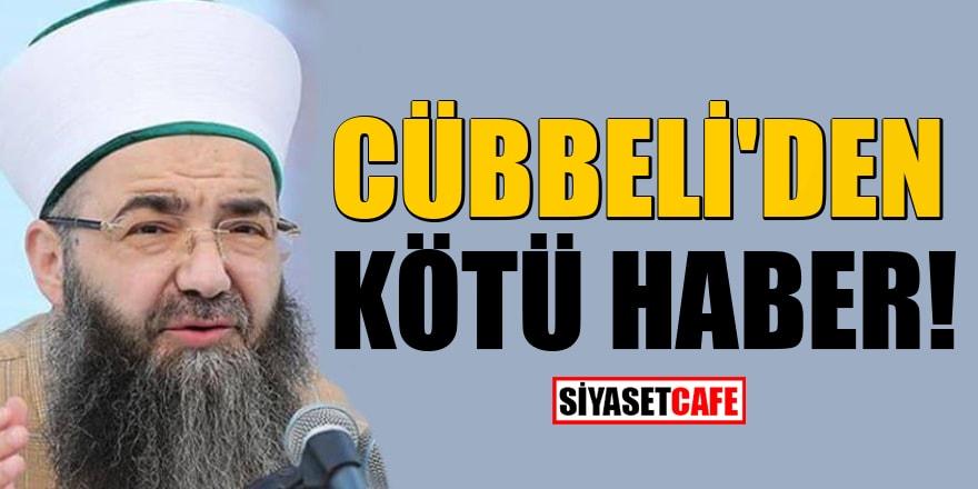 Hastalanan Cübbeli Ahmet sohbetlerini yapamayacak