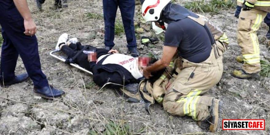 Büyükçekmece'de düşen eğitim uçağını kullanan pilotaj öğrencisi hayatını kaybetti