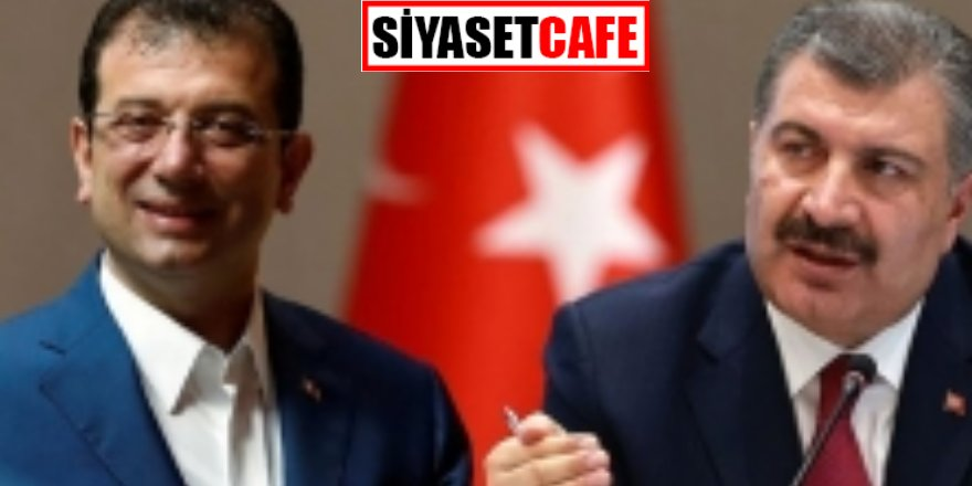 Bakan Fahrettin Koca İBB Başkanı Ekrem İmamoğlu'nu aradı