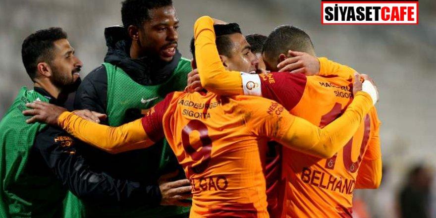 Falcao attı, Galatasaray kazandı