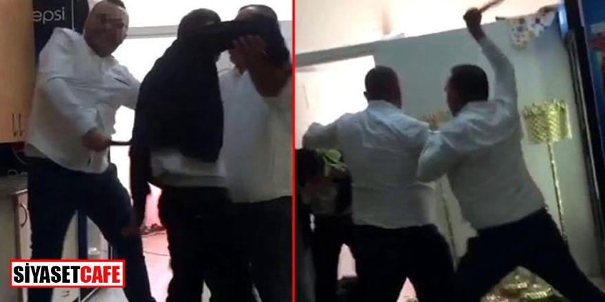 Bağcılar'da 'kafeteryada taciz' iddiasına sopalı dayak!