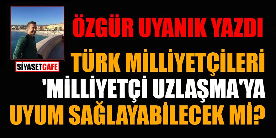 Özgür Uyanık yazdı: Türk milliyetçileri 'Milliyetçi Uzlaşma'ya uyum sağlayabilecek mi?
