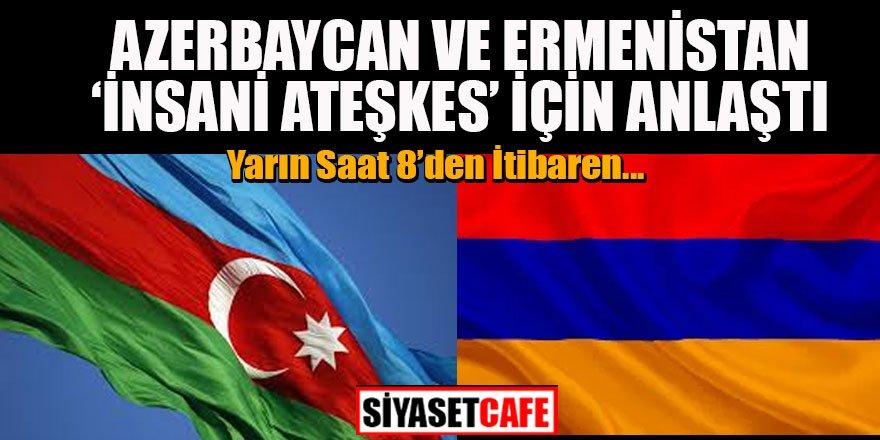 Son dakika: Azerbaycan ve Ermenistan ateşkes için anlaştı