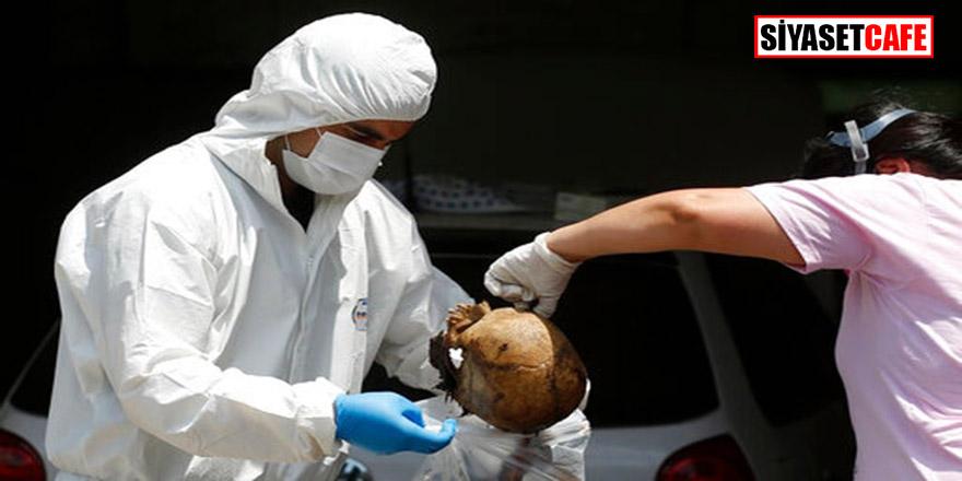 Sırbistan'dan Paraguay'a gübre sevkiyatında bulunan konteynerda  parçalanmış 7 ceset bulundu