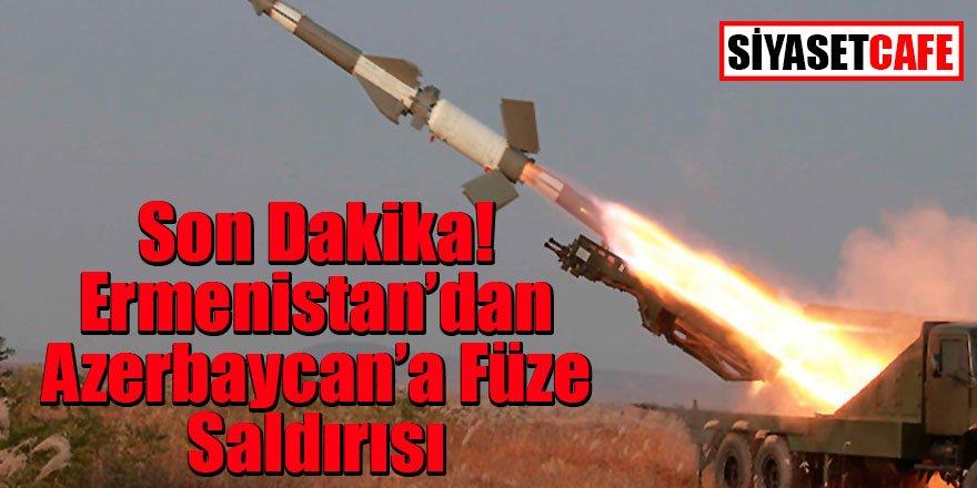 Ermenistan'dan Azerbaycan'a füzeli saldırı! Kurban yine çocuklar oldu