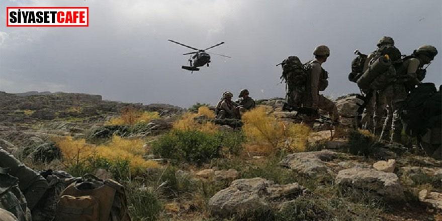 Hakkari'deki operasyonlarda 4 terörist etkisiz hale getirildi