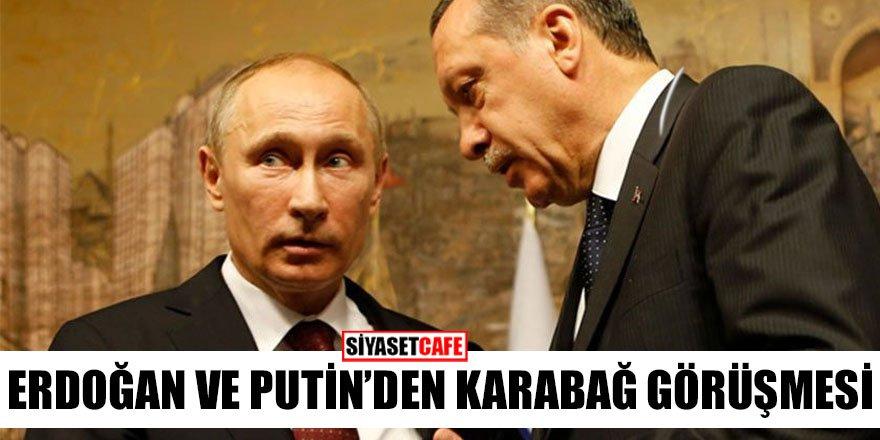 Erdoğan ve Putin'den Karabağ görüşmesi
