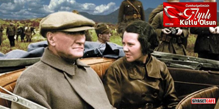 Genelkurmay arşivinden renklendirilmiş Atatürk fotoğrafları