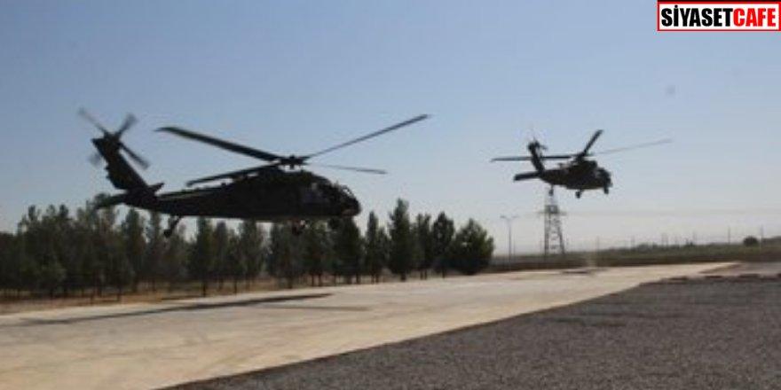 Deprem sonrası o bölgeye helikopterler harekete geçti