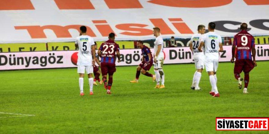 Trabzonspor sahasında mağlup! 7 gollü maç
