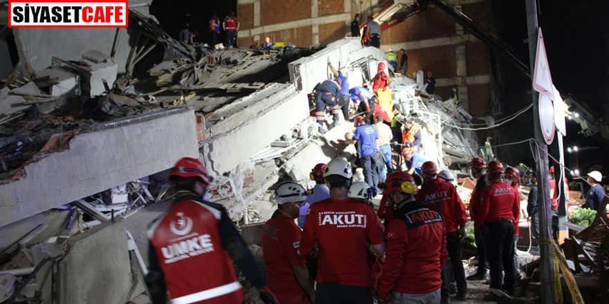 Depremden 6 saat sonra bir kişi daha kurtarıldı