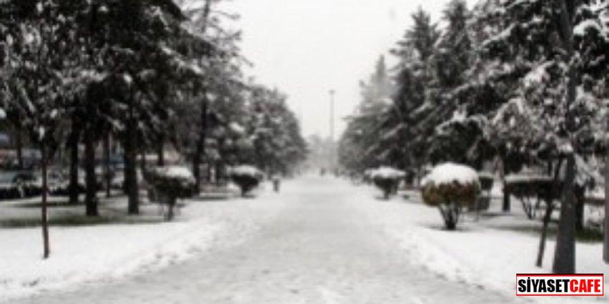 İlk kar yere düştü!