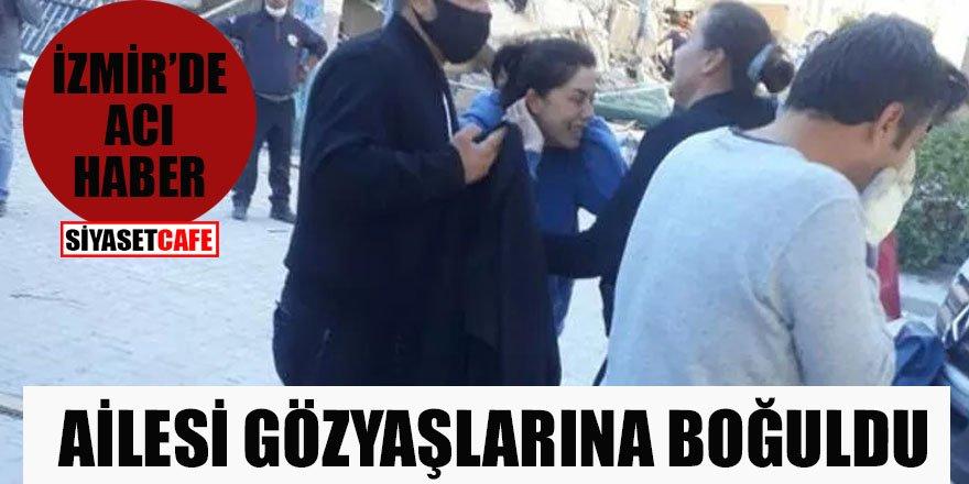 İzmir'de acı haber! Ailesi gözyaşlarına boğuldu