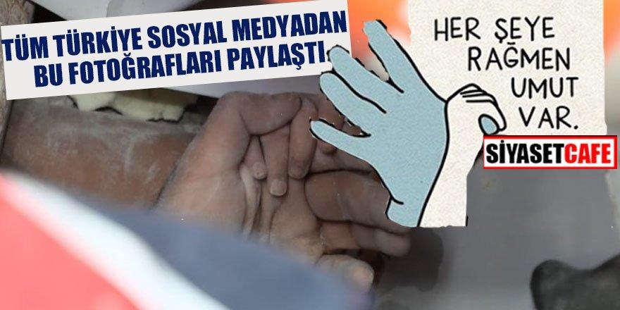 Tüm Türkiye sosyal medyadan bu fotoğrafları paylaştı