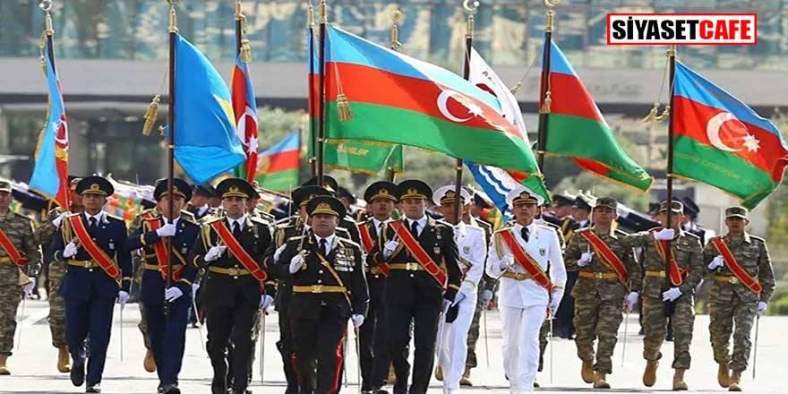 Azerbaycan Silahlı Kuvvetleri'ne yardım yağıyor