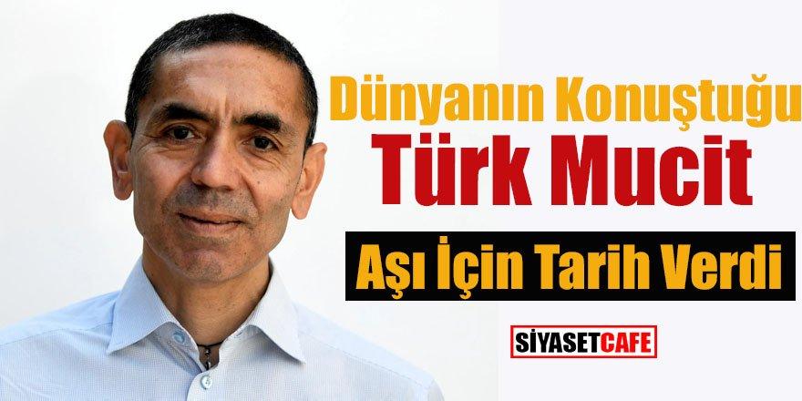 Dünyanın konuştuğu Türk mucit aşı için tarih verdi