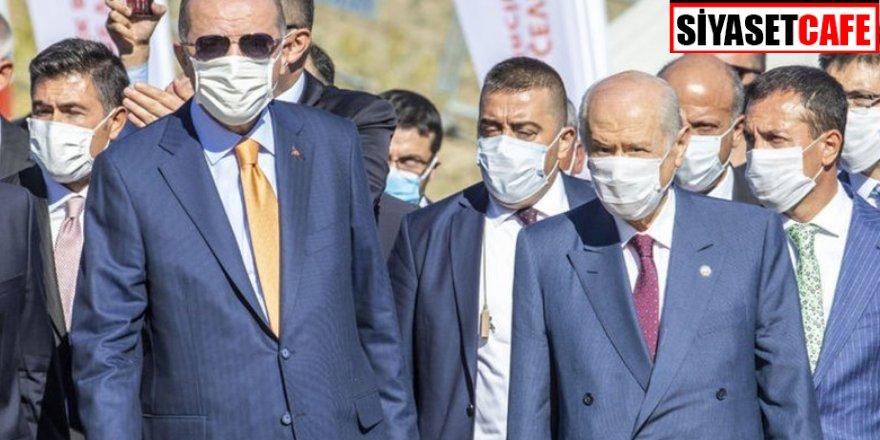 Tarihi buluşma! Erdoğan ve Bahçeli Maraş'ta