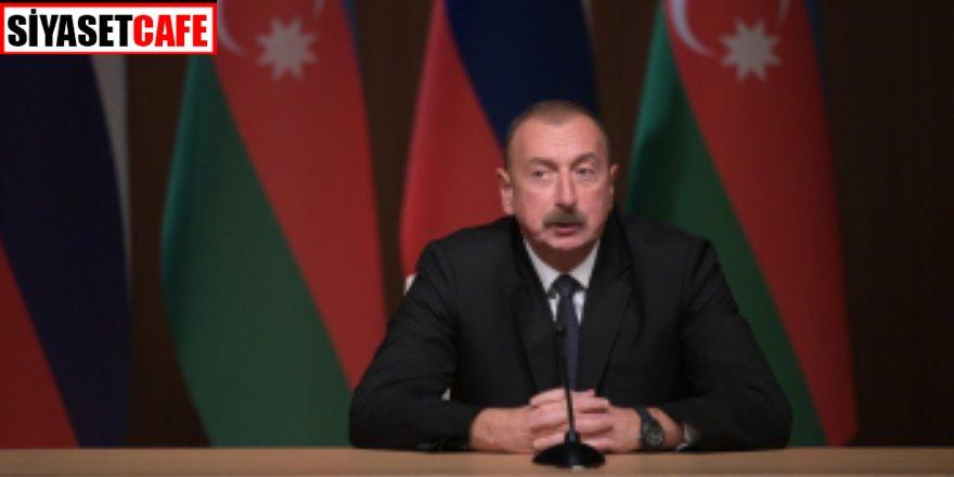 Aliyev'den Karabağ'daki yıkımlar için açıklama! 'Hesap verecekler'