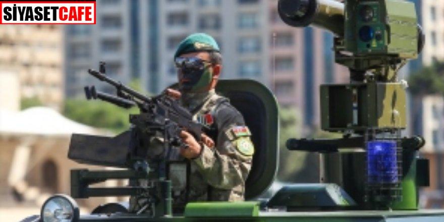 Azerbaycan ordusu 27 yıl sonra o bölgede