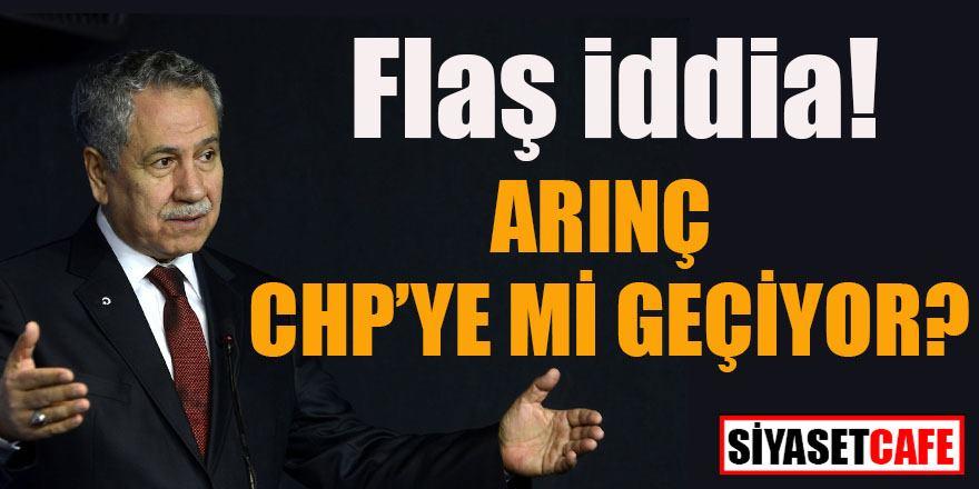 Flaş iddia: Bülent Arınç CHP'ye mi geçiyor?
