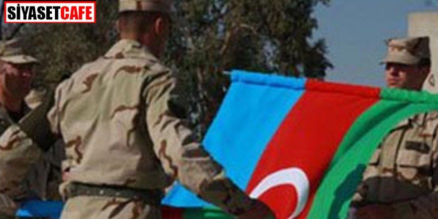 Bir Azerbaycan askeri şehit oldu