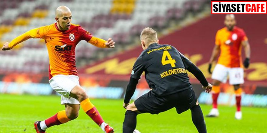 Galatasaray liderlik yarışında berabere kaldı