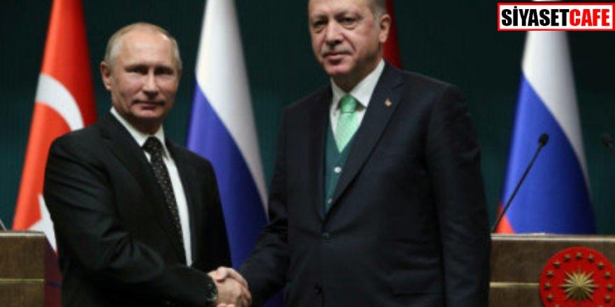 Erdoğan ile Putin Dağlık Karabağ'ı görüştü