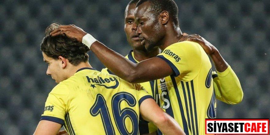 Kadıköy'de 4 golle 3 puan Fenerbahçe'nin