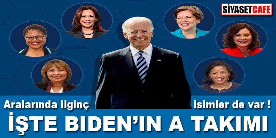 İşte Biden'ın A Takımı... Listede birçok ilk'ler ve ilginç isimler var!