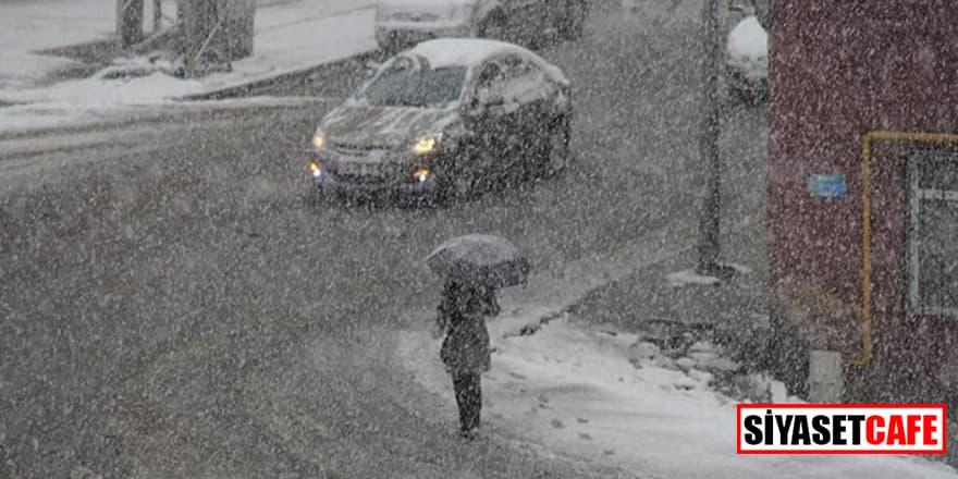 Meteoroloji uyardı! 7 ilde sağanak ve kar bekleniyor