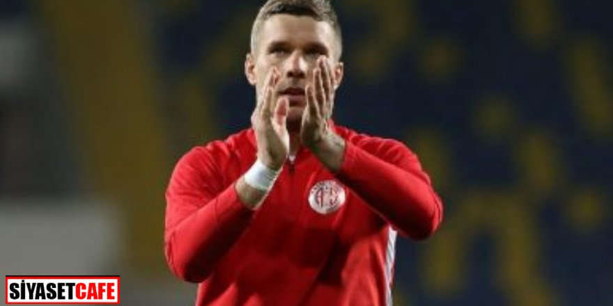 Podolski'den samimi açıklama: Türkiye ikinci vatanım