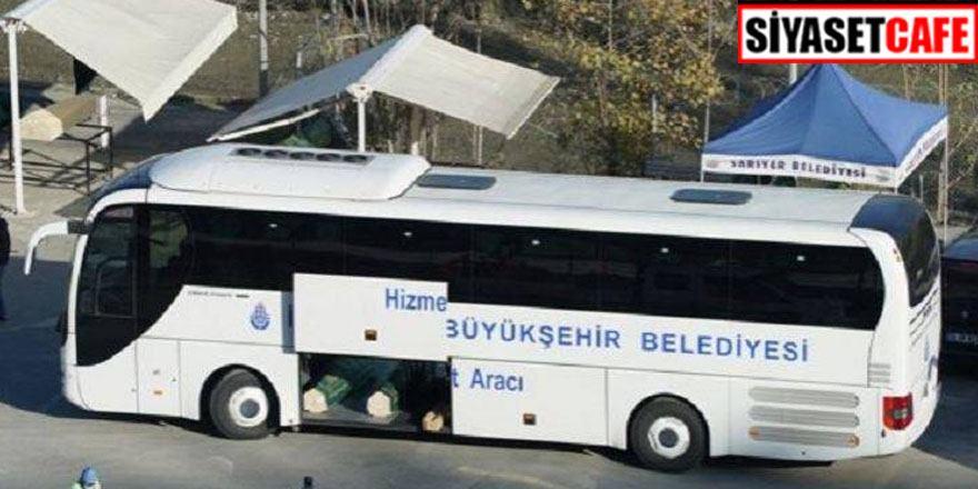 Ürküten manzara: Cenazeler İBB otobüsünün bagajında taşındı
