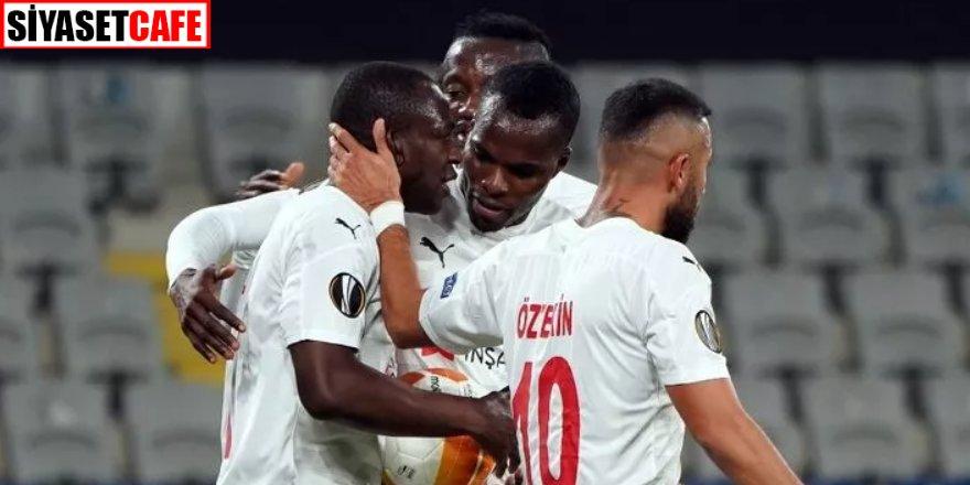 'Yiğidolar' Avrupa'da geri döndü: Karabağ 2- 3 Sivasspor