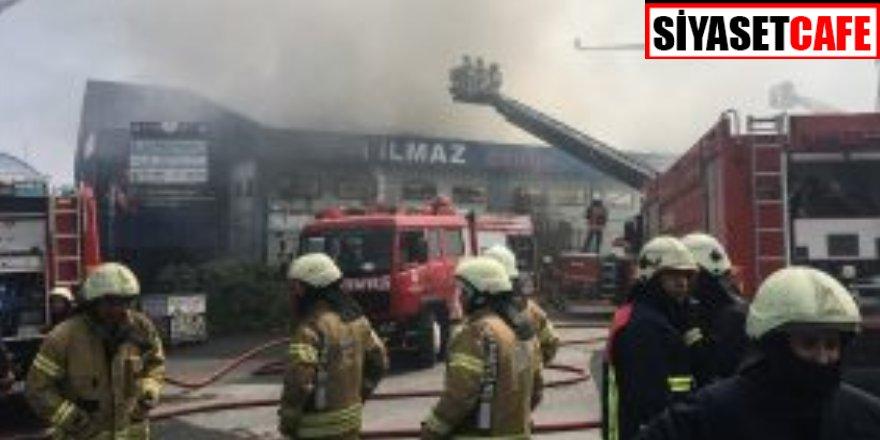 Son dakika: Zeytinburnu'nda yangın