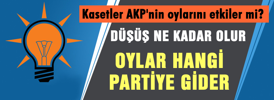 Ses kayıtları AKP oylarını nasıl etkiler?