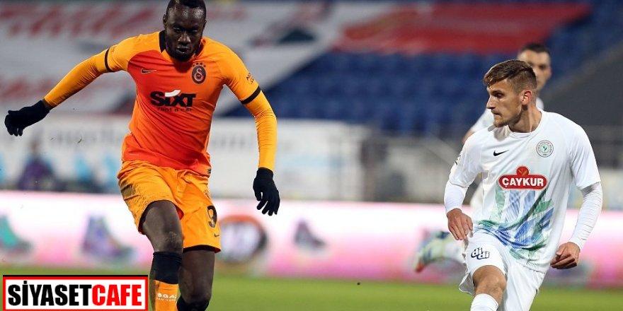 Galatasaray Rize'de gol olup yağdı