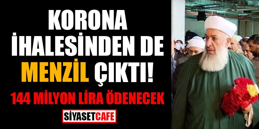 Korona ihalesinden de Menzil çıktı! 144 milyon lira ödenecek