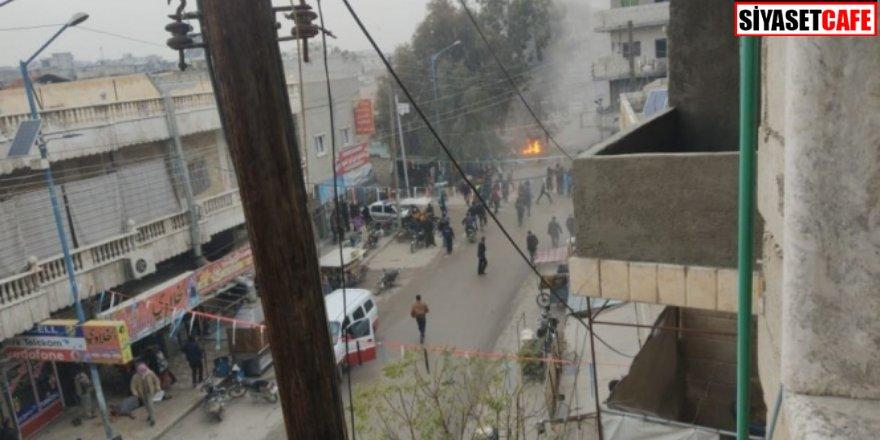Suriye Cerablus'ta patlama: 4 yaralı