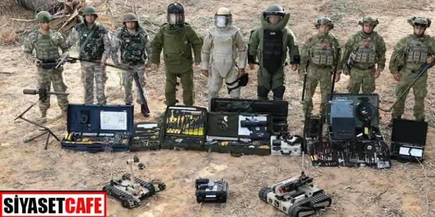 MSB: Kara Kuvvetlerimizin METİ ve PMKİ timleri Azerbaycan'da göreve başladı