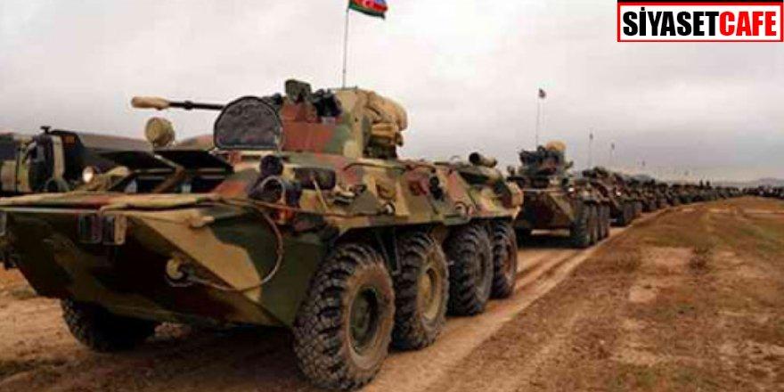 Azerbaycan ordusu 28 yıl sonra Laçın'a girdi