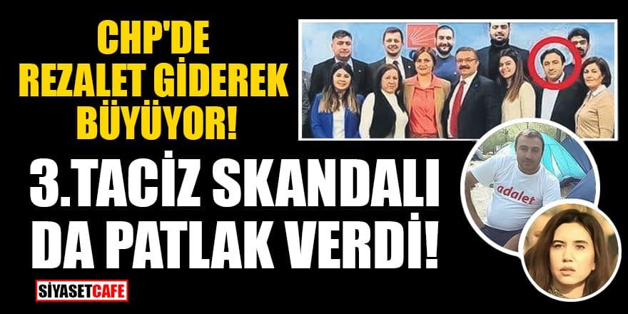 CHP'de rezalet giderek büyüyor! 3. taciz skandalı da patlak verdi