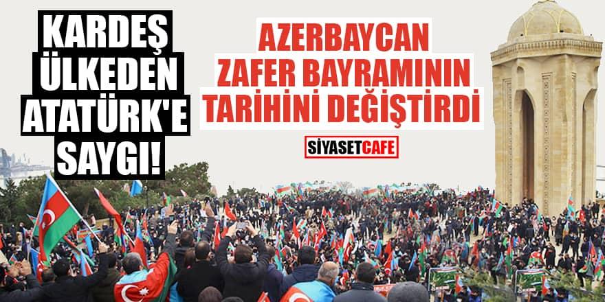 Azerbaycan zafer bayramının tarihini değiştirdi!