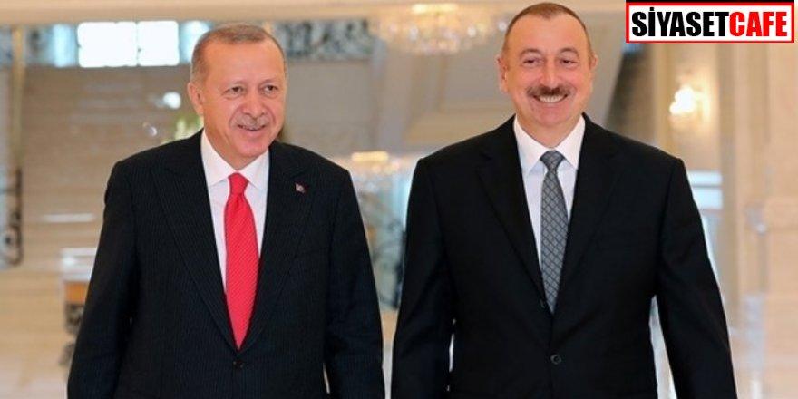 Cumhurbaşkanı Erdoğan Azerbaycan'a gidiyor: Aliyev ile görüşecek