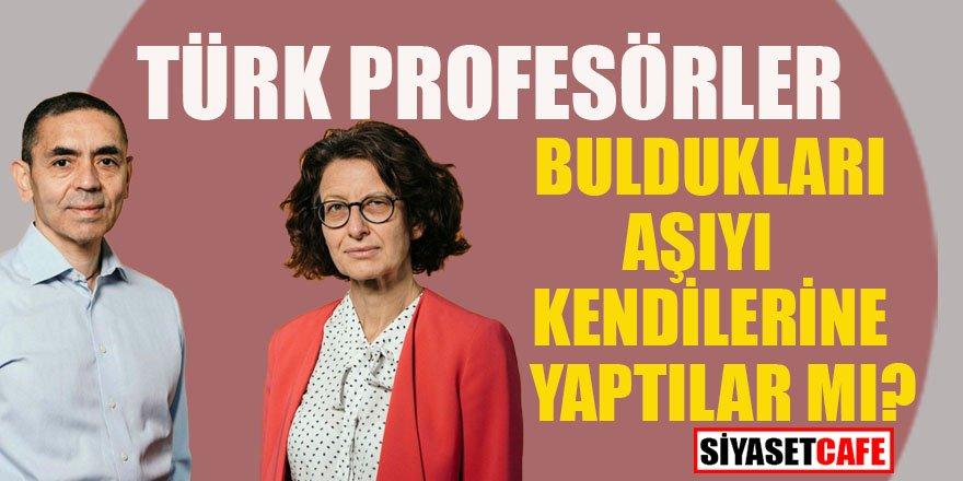 Uğur Şahin ve Özlem Türeci'den tüm Türkiye'nin merak ettiği soruya yanıt